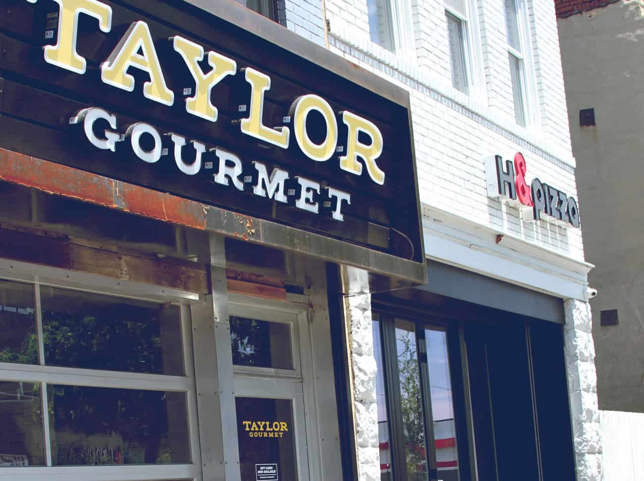 Taylor Gormet/H&Pizza on H Street